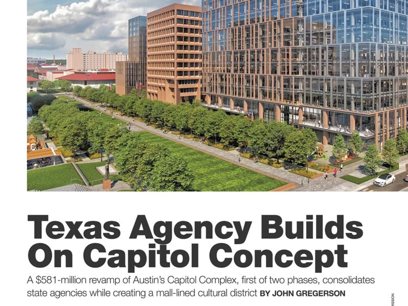 Austin Capital Complex Project Featured in ENR