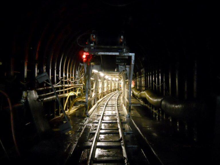 TBM Gantry and Rail system