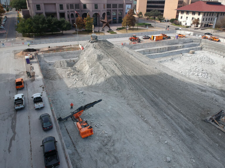 Capitol Complex Phase I excavation, Austin TX
