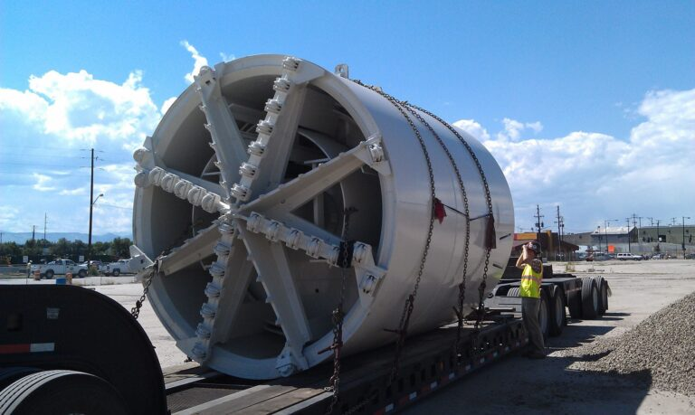 Open face Tunnel Boring Machine, Dakota Avenue Outfall Tunnel, Denver, CO