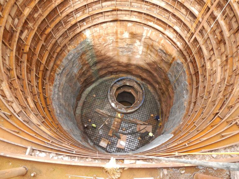Landside shaft