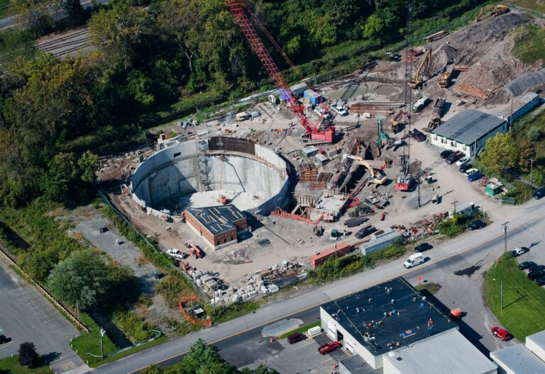 CSO Storage Tank, Lower Harbor Brook