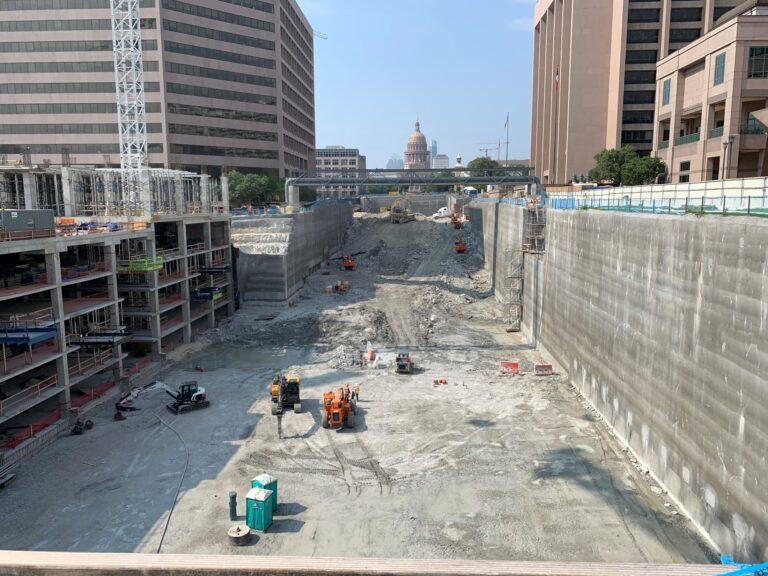 Capital Complex Phase I Excavation, Austin, TX