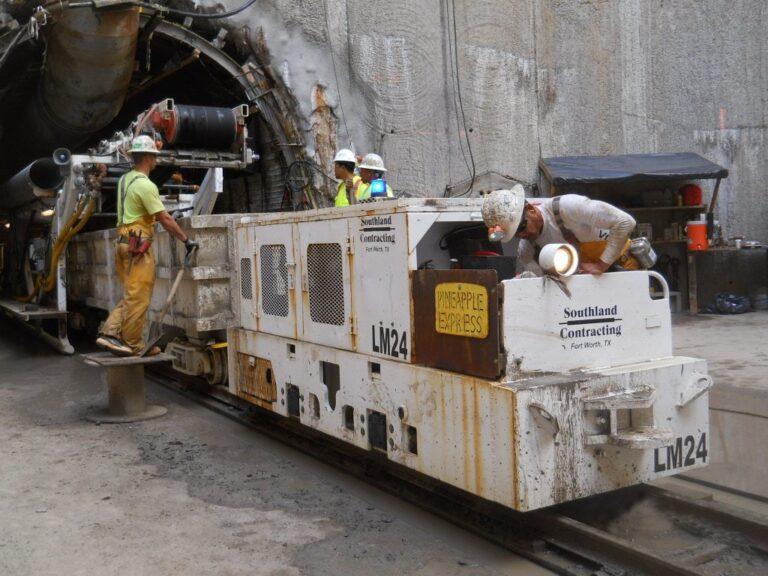 Tunnel Locomotive