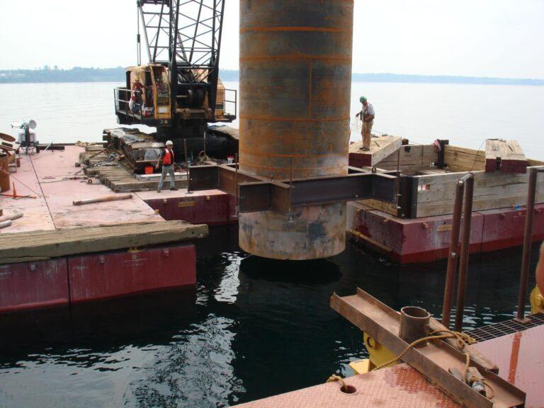 Casing for Eastside Lake Ontario Water Intake