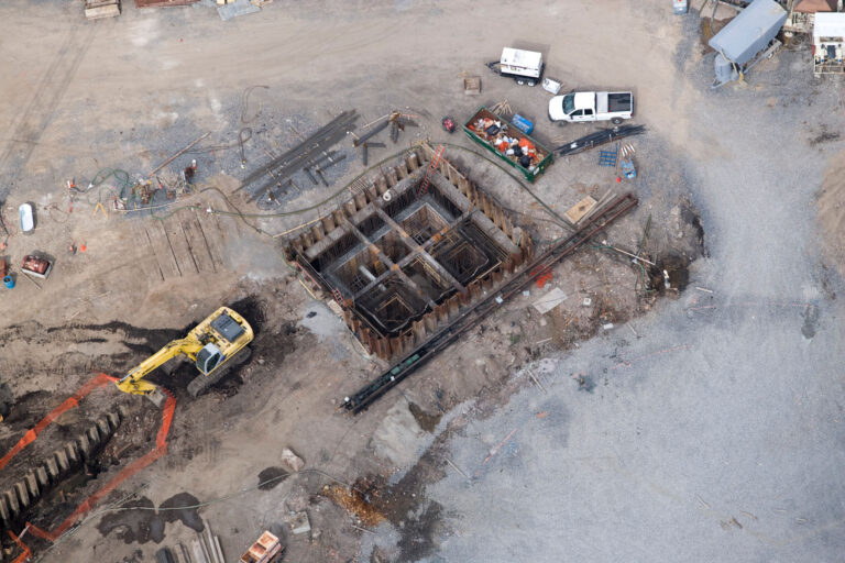 Aerial view of Junction Chamber