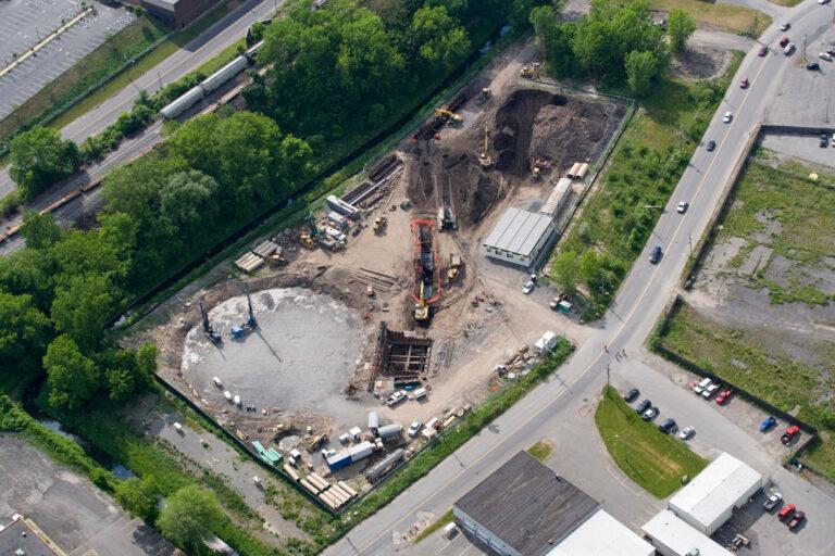 Permeation Grouting Lower Harbor Brook CSO Storage Tank, Syracuse NY