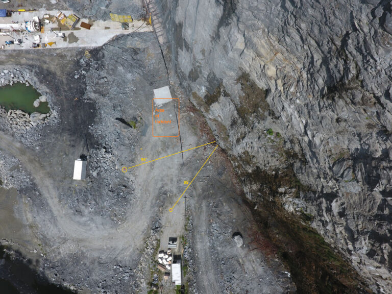 View of rockface Bellwood Quarry