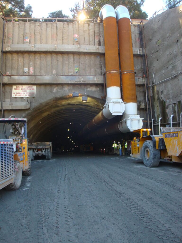 Portal No. 2 Caldecott 4th Bore Tunnel, CA