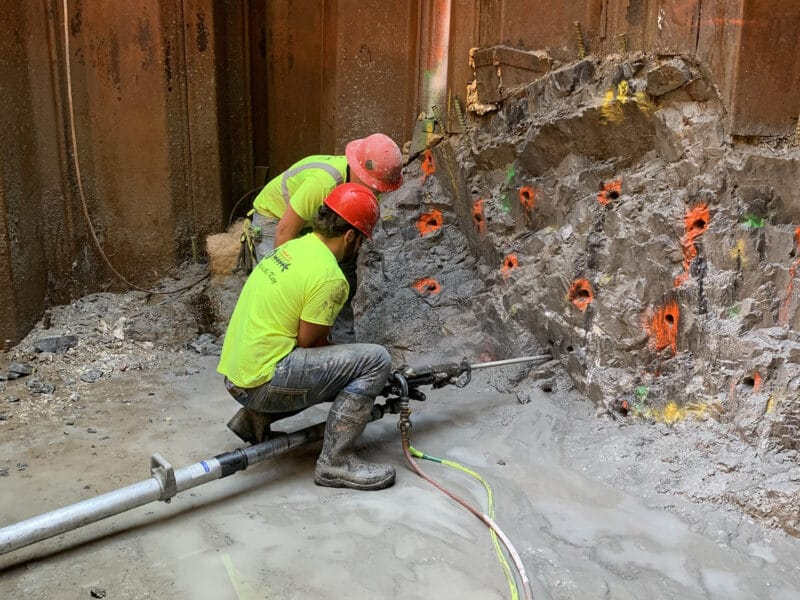 """Innovative """"Micro-fracture"""" Blasting Design Mitigates Railroad Concerns to Successfully Install a Critical Stormwater Culvert"""
