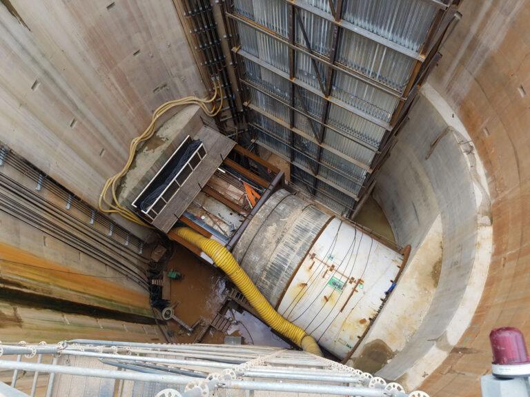 Northeast Boundary Tunnel Shaft