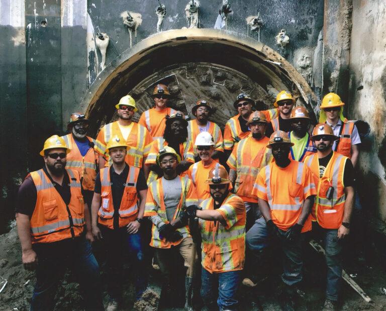 Construction Team, Globeville Landing Outfall Tunnels