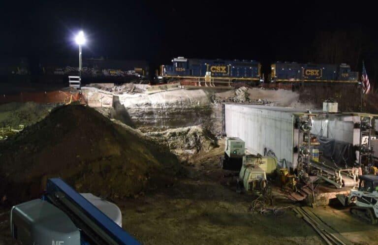 Box tunnel construction