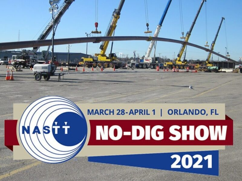 Brierley Associates Will Be at the No-Dig Conference in Orlando, March 28-31, 2021