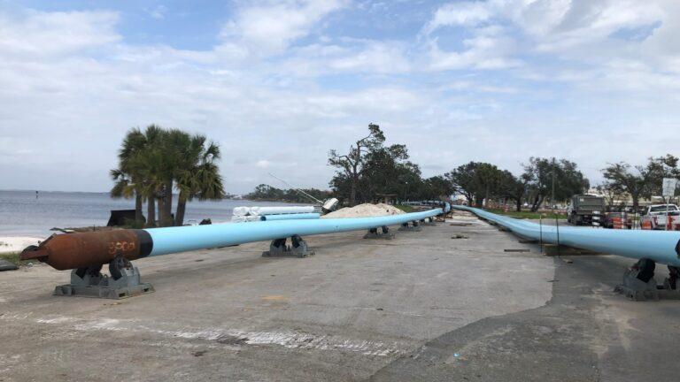 Fusible PVC Pipe, St. Andrew Bay, Panama City, FL