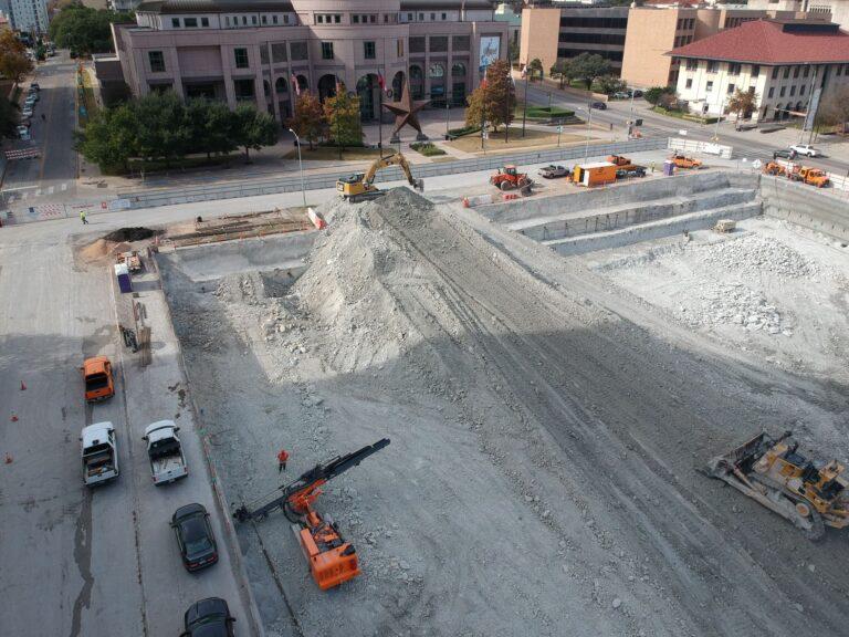 Capitol Complex Excavation Austin TX