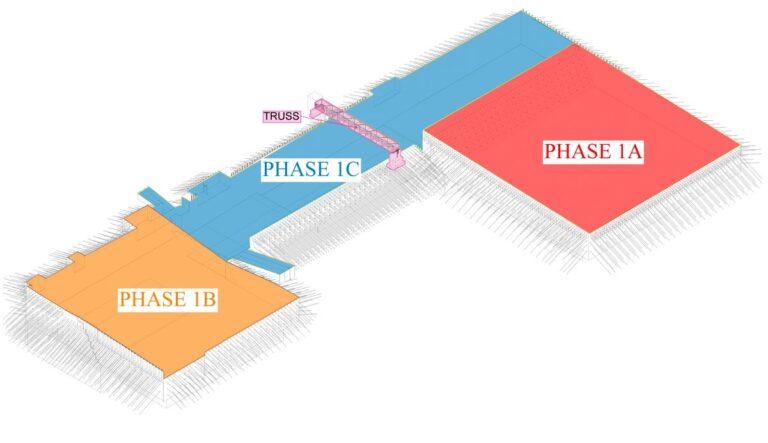 3D Revit Model of Capital Complex, Austin, TX